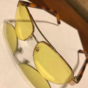 Yellow Guess Sunglasses